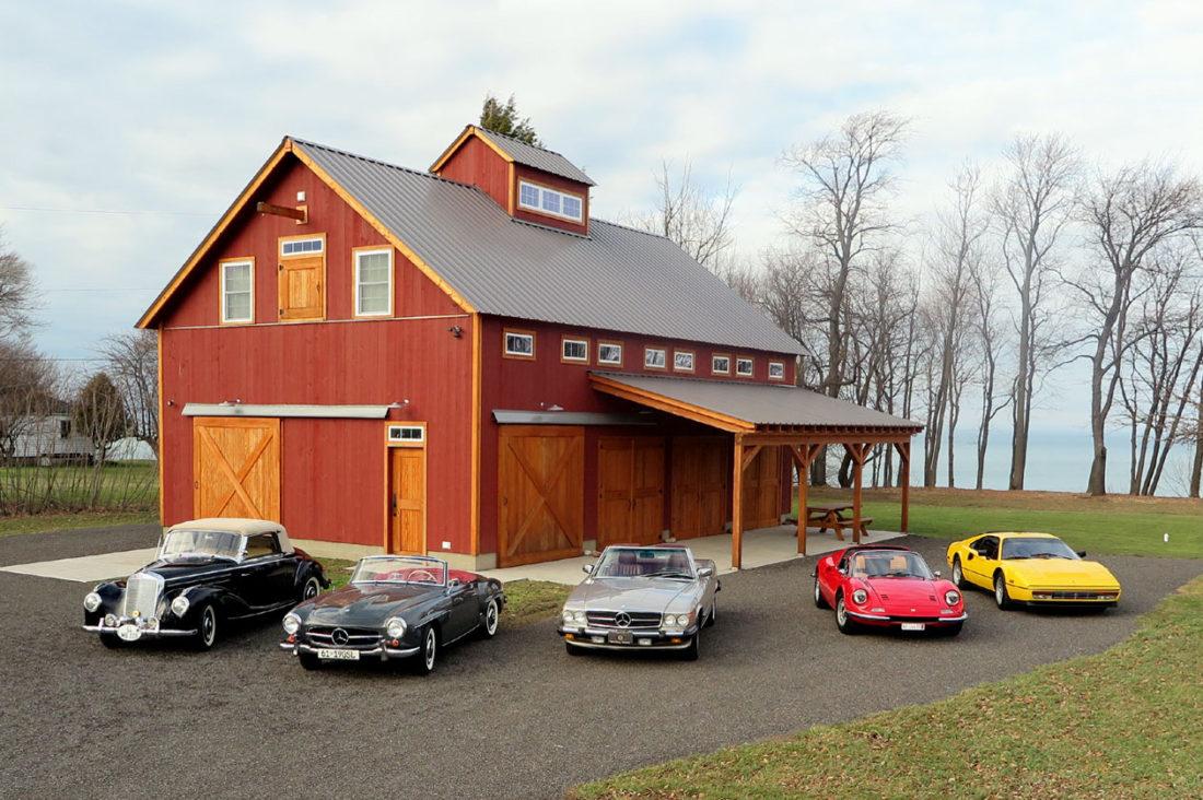 Geobarns: Lake Erie Auto Barn, Pennsylvania