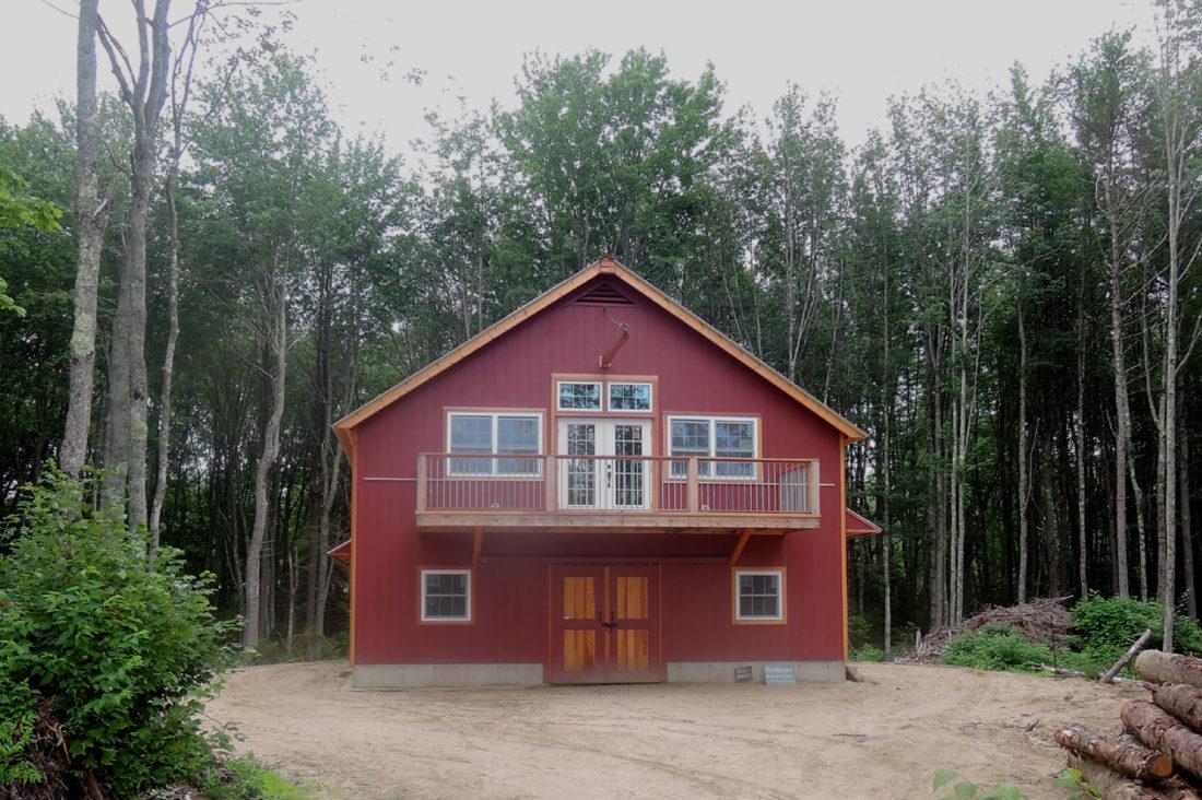 Maine Coast Barn Geobarns