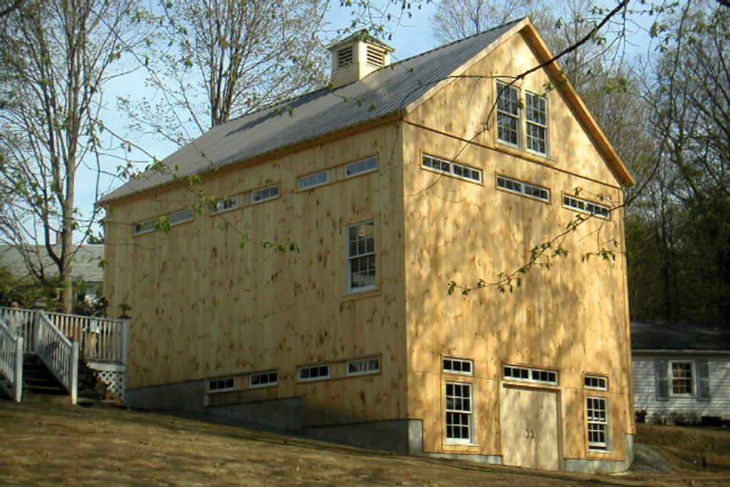 Geobarns art studio bank barn exterior