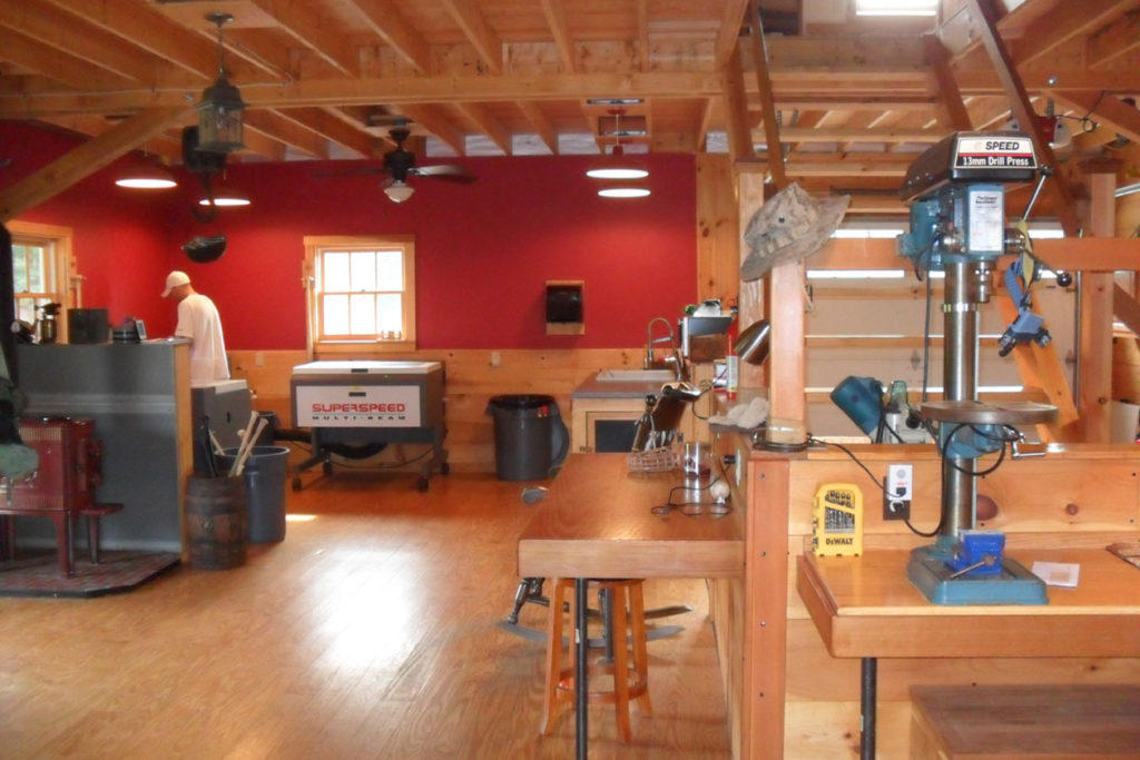 shop, interior, timber, stairs, lighting, woodworking
